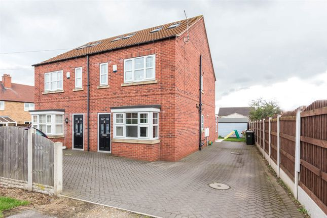Thumbnail Semi-detached house for sale in Bevre Road, Armthorpe, Doncaster