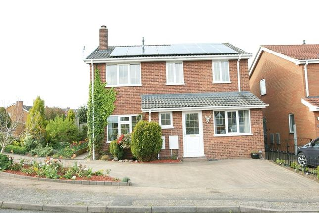 Thumbnail Detached house for sale in Kings Meadow, Rainworth, Mansfield
