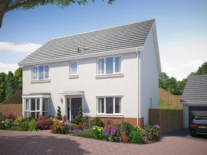 Thumbnail Detached house for sale in Teignmouth Road, Kingsteignton, Newton Abbot, Devon
