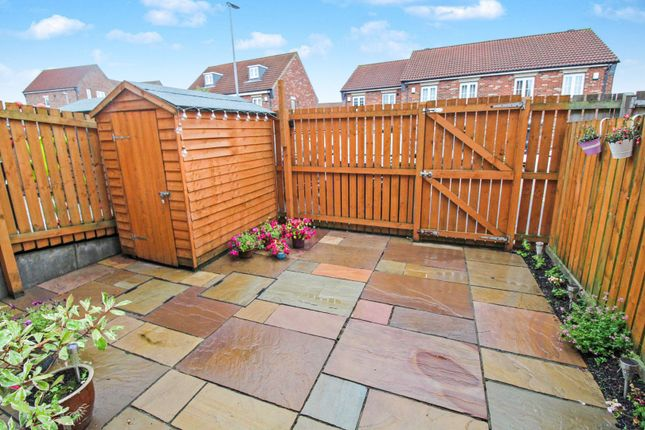 Rear Garden of Rennison Mews, Blaydon NE21
