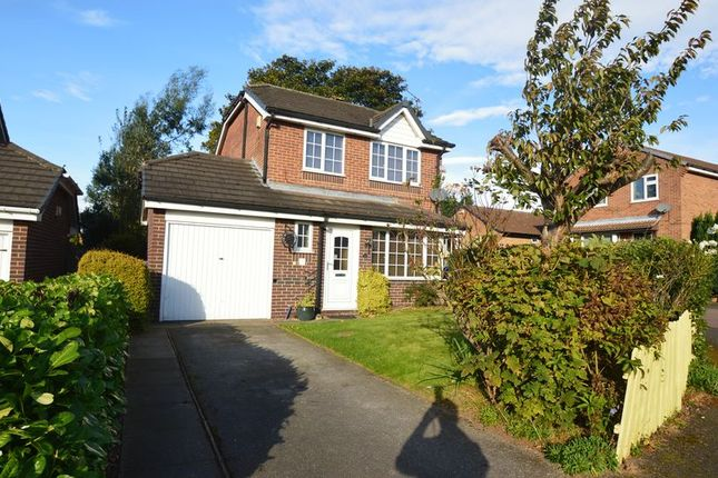 Thumbnail Detached house for sale in Darricott Close, Rainworth, Mansfield