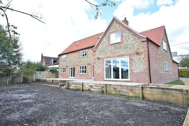 Thumbnail Detached house for sale in Druids Lane, Litcham, King's Lynn