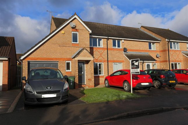 Thumbnail End terrace house to rent in Darien Way, Thorpe Astley, Braunstone, Leicester