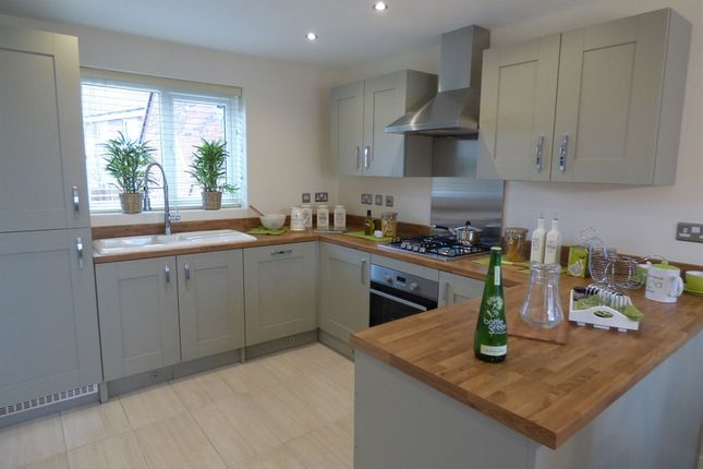 "Thumbnail Detached house for sale in ""The Clayton"" at Northborough Way, Boulton Moor, Derby"