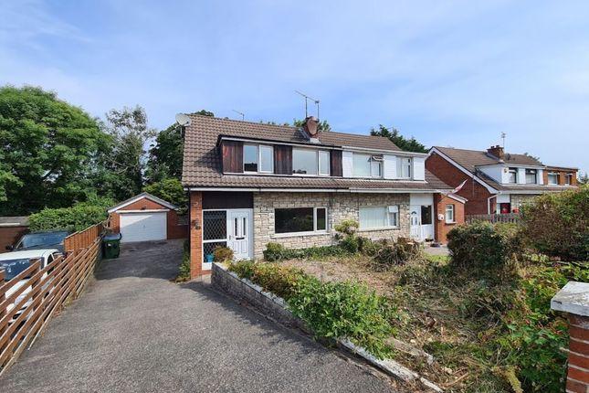 Thumbnail Semi-detached house for sale in Birch Drive, Bangor