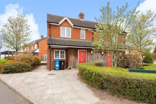 Thumbnail Semi-detached house for sale in Arthur Close, Cookham, Maidenhead, Berkshire