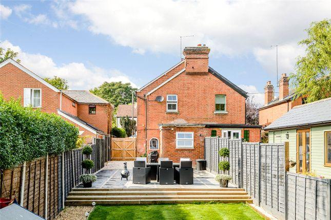 Thumbnail Semi-detached house for sale in Chertsey Road, Windlesham, Surrey