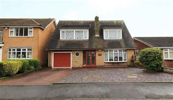 Thumbnail Detached house for sale in Meriden Close, Cannock