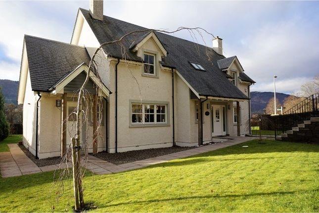 Thumbnail Detached house for sale in Lagreach Brae, Pitlochry