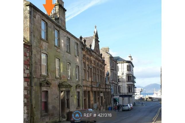 Thumbnail Flat to rent in Bishop Street, Rothesay