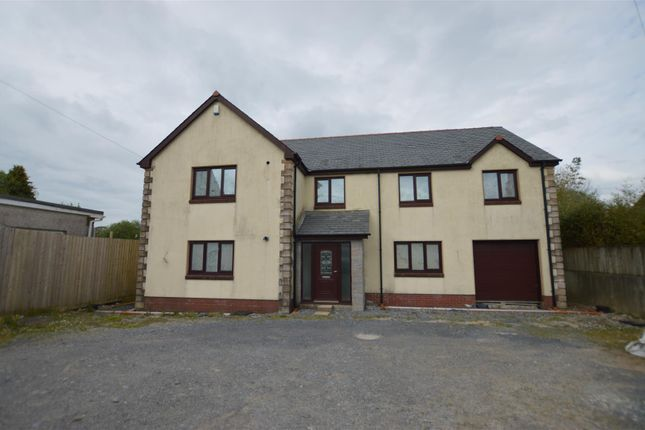 Thumbnail Detached house for sale in Black Lion Road, Gorslas, Llanelli