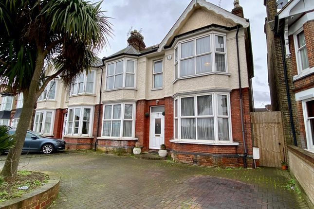 Thumbnail Semi-detached house for sale in Pelham Road, Gravesend