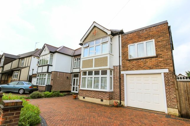 4 bed semi-detached house for sale in Nevin Drive, London
