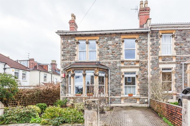 Thumbnail End terrace house for sale in Broadway Road, Bishopston, Bristol