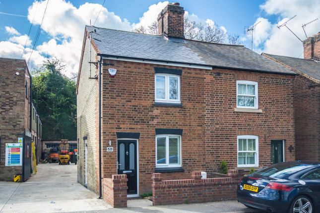 Thumbnail End terrace house to rent in Ware Road, Hertford
