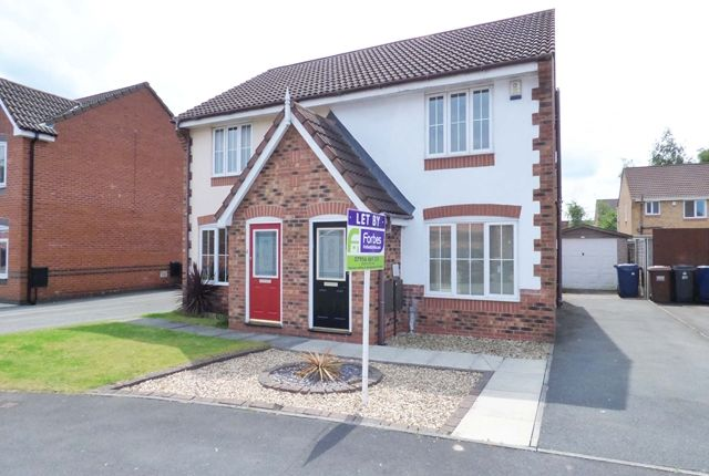 Thumbnail Semi-detached house to rent in Kennett Drive, Leyland