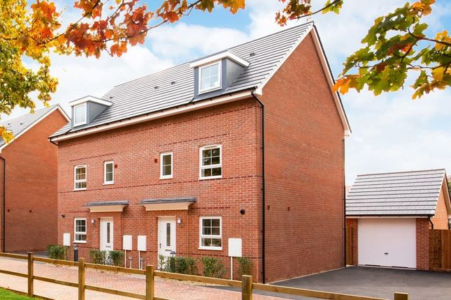 """Thumbnail Semi-detached house for sale in """"Woodcote"""" at Lindhurst Way West, Mansfield"""