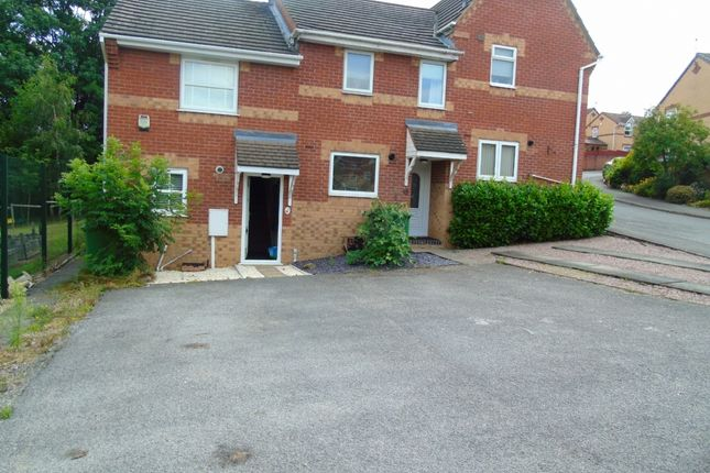 2 bed town house to rent in Newham Close, Heanor, Derbyshire DE75