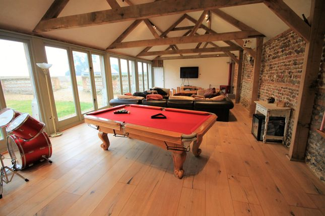 Thumbnail Barn conversion to rent in Old Hall Road, Witton, North Walsham
