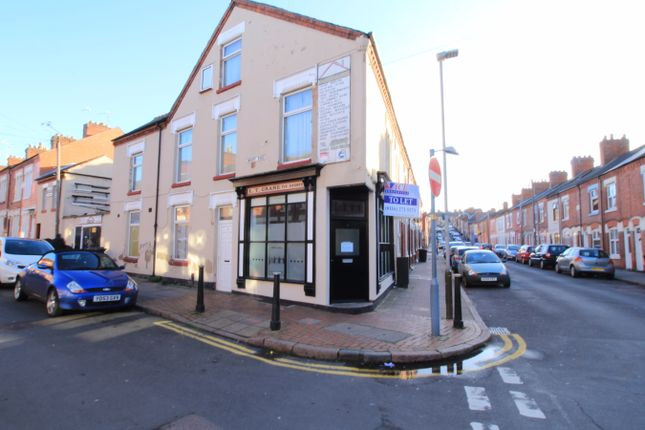 Thumbnail End terrace house for sale in Mount Road, Leicester