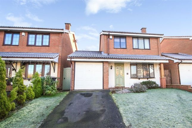 Thumbnail Detached house for sale in Hornet Way, The Rock, Telford, Shropshire