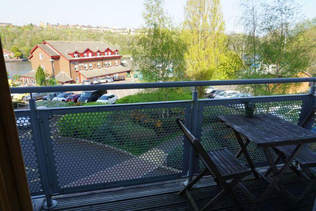 Balcony of Green Lane, Gateshead NE10