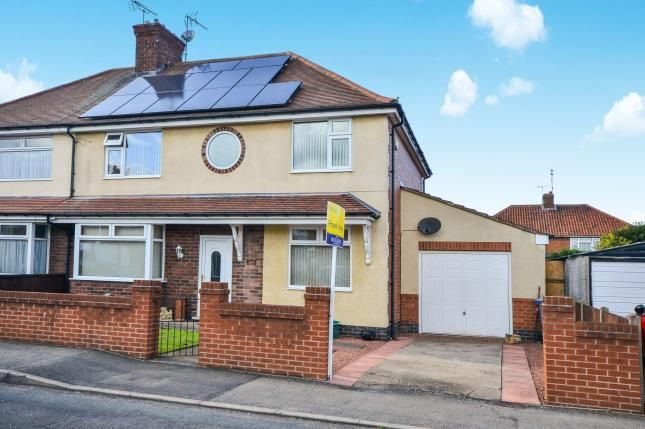 Thumbnail Semi-detached house for sale in York Terrace, Warsop, Mansfield, Nottinghamshire