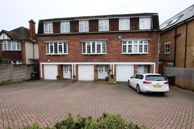Thumbnail Town house for sale in Slades Hill, Enfield