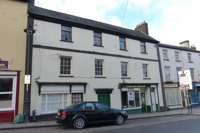 Thumbnail Flat to rent in Ship Street, Brecon