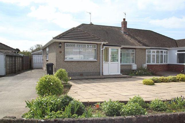 Thumbnail Semi-detached bungalow for sale in Highclere Avenue, Swindon
