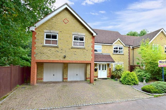 Thumbnail Detached house for sale in Leeswood, Willesborough, Ashford, Kent