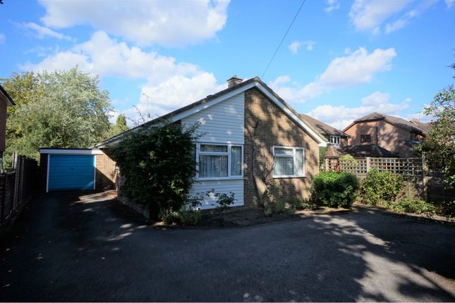 Thumbnail Detached bungalow for sale in Gally Hill Road, Church Crookham