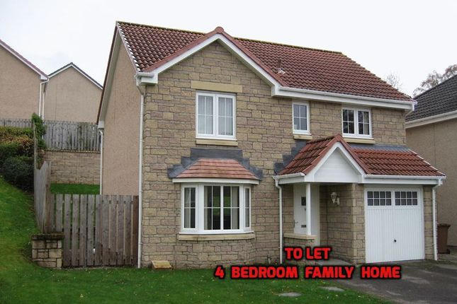 Thumbnail Detached house to rent in Woodlands Park, Westhill, Inverness