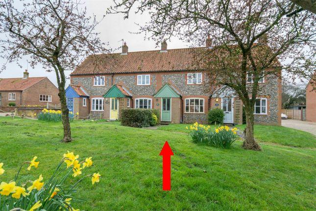 Thumbnail Terraced house for sale in Batterby Green, Hempton, Fakenham