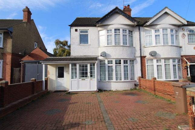 Thumbnail Semi-detached house for sale in Bishopscote Road, Luton