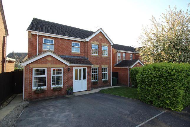 Thumbnail Detached house for sale in Claypole Mead, Pewsham, Chippenham