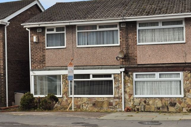 Thumbnail Semi-detached house for sale in The Gables, Rutherford Road, Maghull, Liverpool
