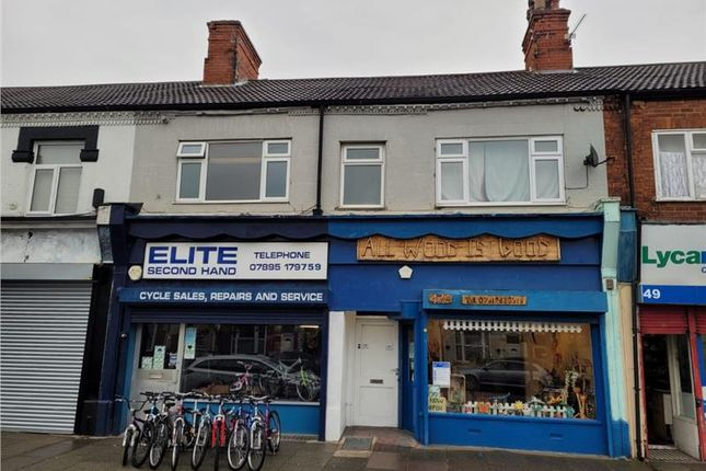 Thumbnail Commercial property for sale in 47, 47A, 47B & 47C Grimsby Road, Cleethorpes, Lincolnshire