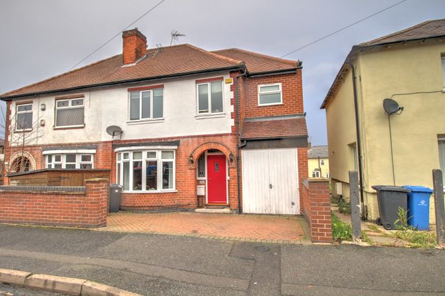 Thumbnail Semi-detached house for sale in Randolph Road, Derby