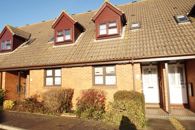Thumbnail Terraced house for sale in Henley Close, Saxmundham