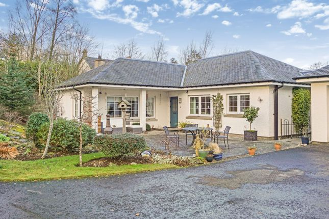 Thumbnail Detached bungalow for sale in Church Brae, Glenfarg