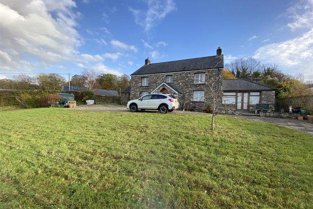 Thumbnail Detached house for sale in New Parc, Golden Grove, Carmarthen