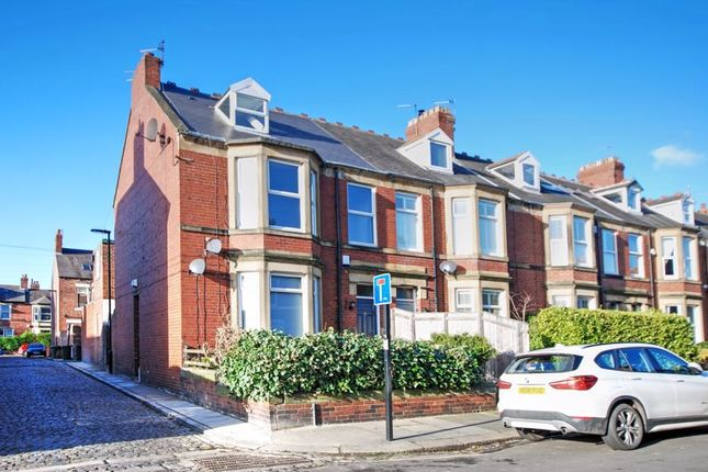 Thumbnail 3 bed flat for sale in Wolveleigh Terrace, Gosforth, Newcastle Upon Tyne