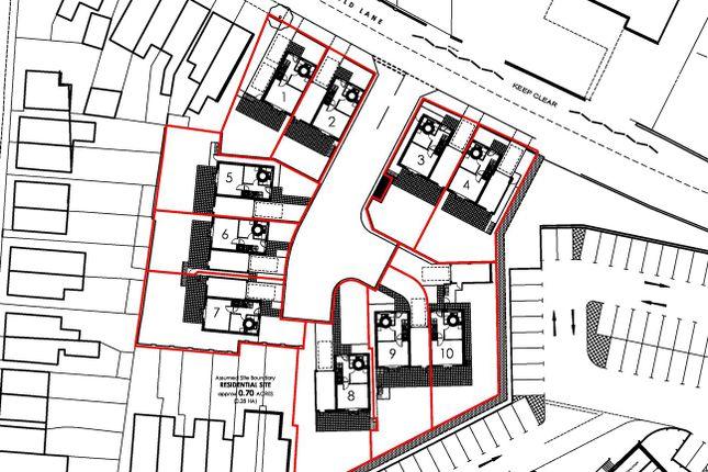 Site Plan of Pinfold Lane, Stapleford, Nottingham NG9