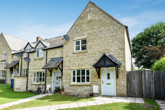 Thumbnail End terrace house for sale in Shepherds Hill, Steeple Aston