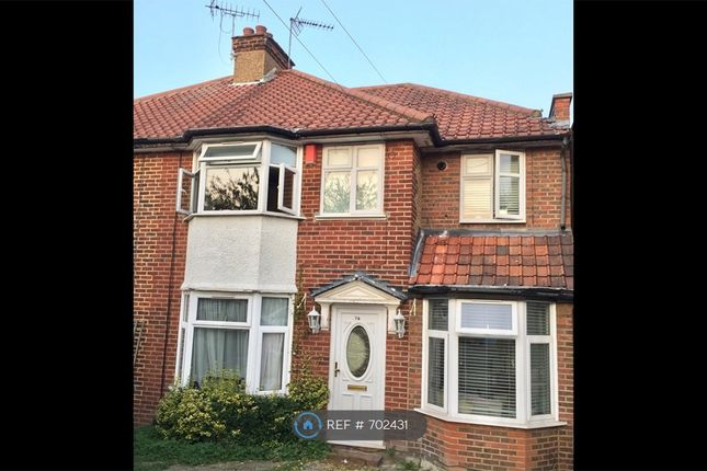 Thumbnail Semi-detached house to rent in The Greenway, London