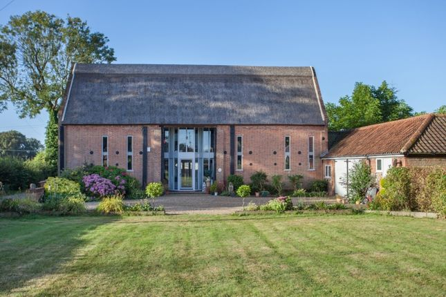 Thumbnail Barn conversion for sale in Church Road, Lingwood, Norwich