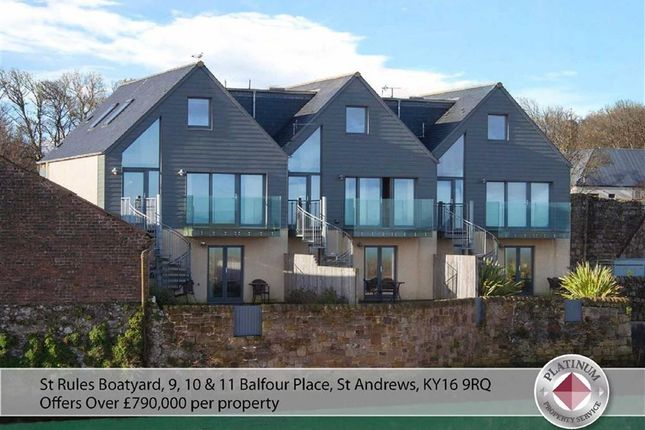Thumbnail Town house for sale in St Rules Boatyard, 10, Balfour Place, St Andrews