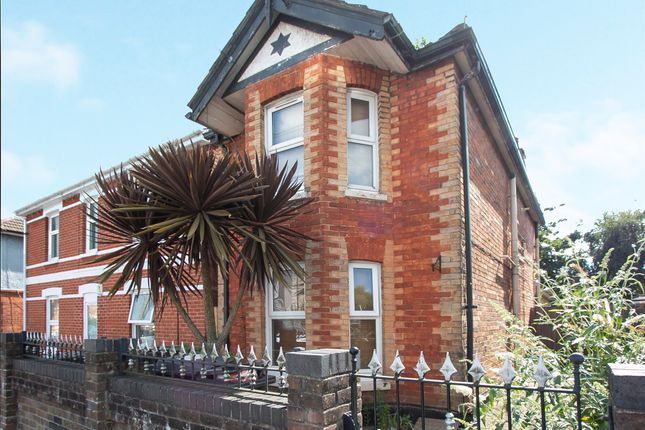 Thumbnail Detached house for sale in Maple Road, Winton, Bournemouth