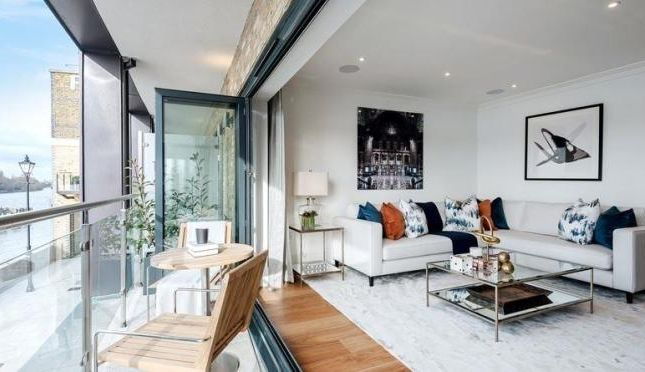 Thumbnail Town house for sale in Oxbridge Terrace, Palace Wharf, Fulham, London
